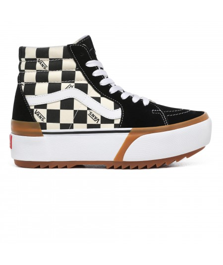 ZAPATILLAS CHECKERBOARD SK8-HI STACKED