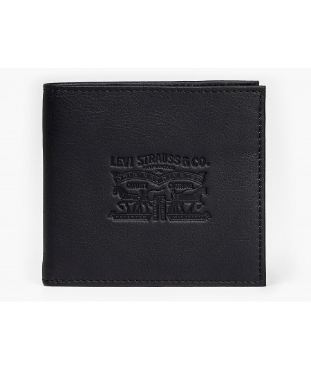 VINTAGE TWO HORSE VERTICAL COIN WALLET