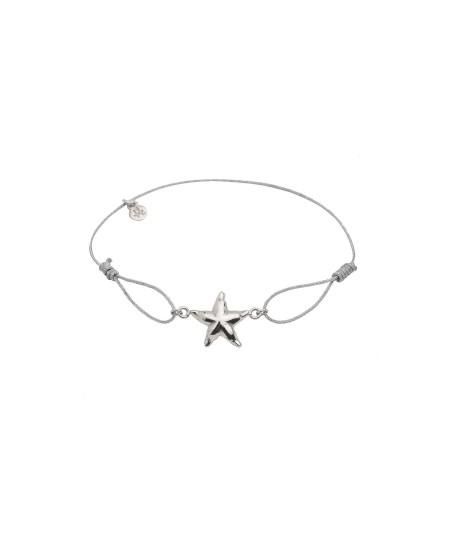 Pulsera Estrella plata
