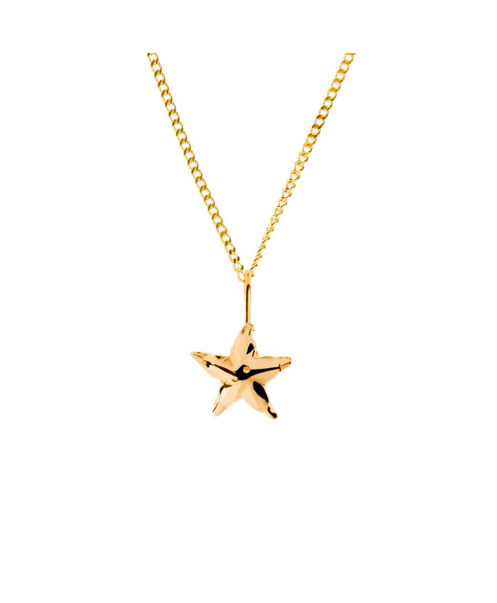 Gargantilla Estrella oro