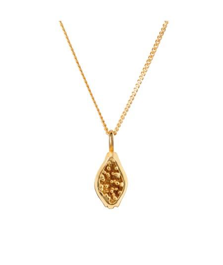 Gargantilla Papaya oro