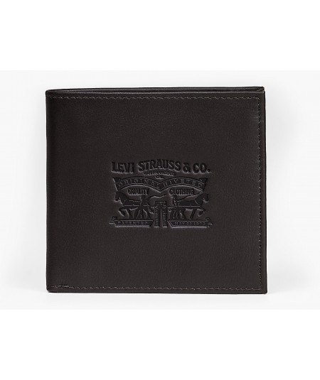 222539 VINTAGE TWO HORSE VERTICAL COIN WALLET