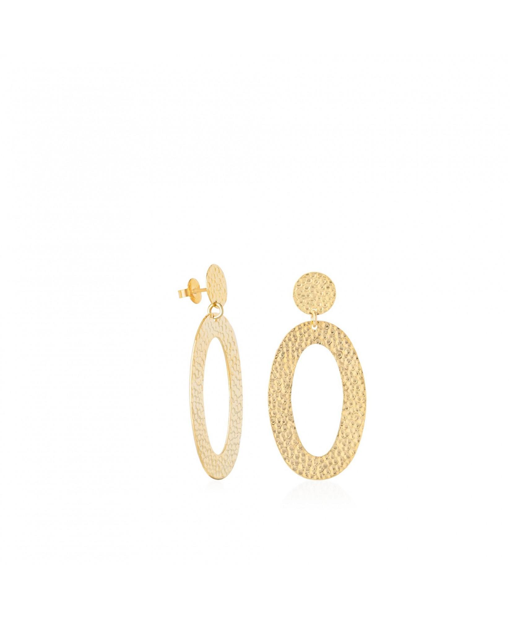Pendientes oro ovalados Asteria Pendientes oro ovalados Asteria