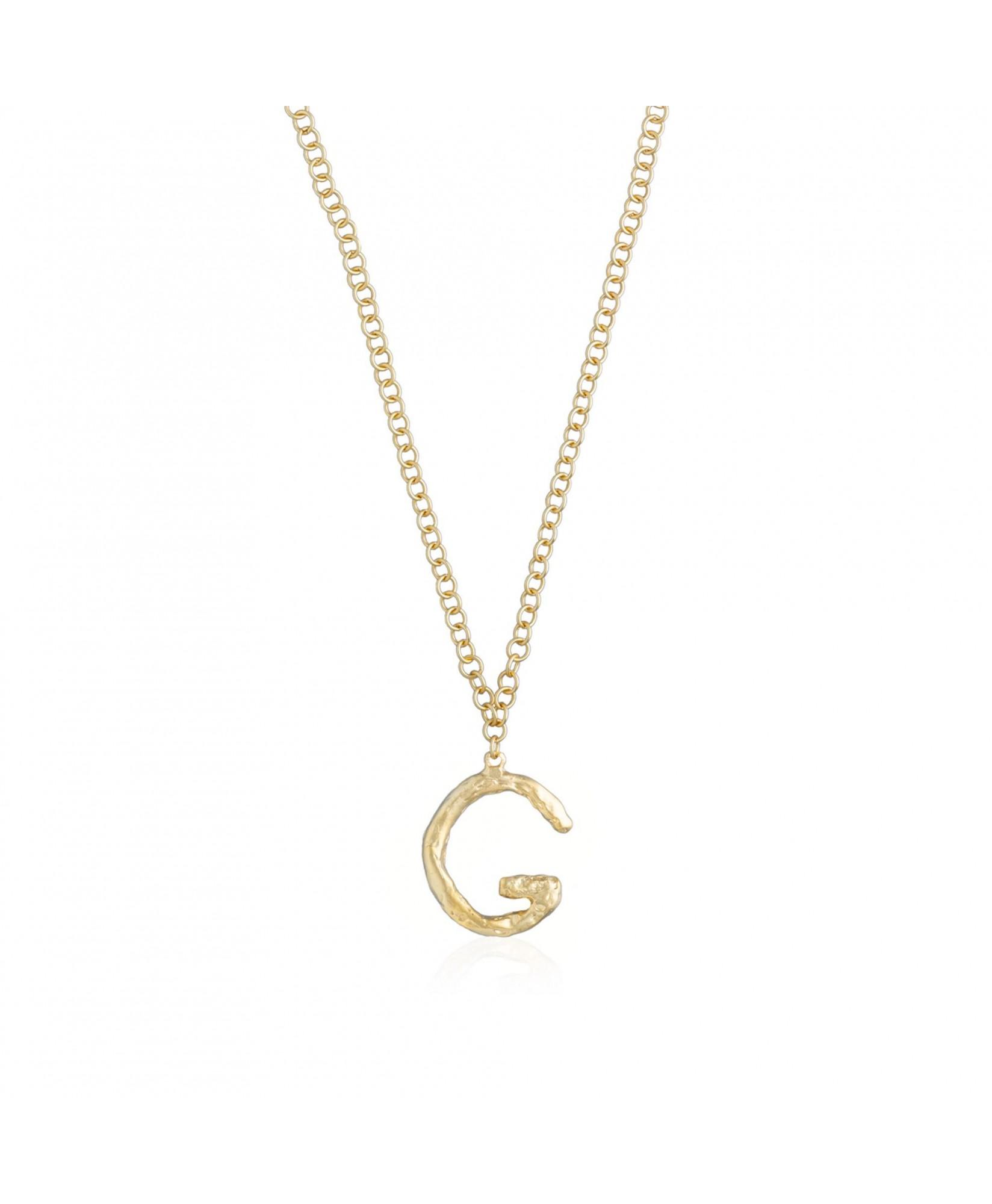 Collar letra G oro Collar letra G oro