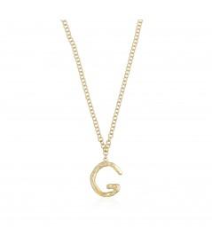 Collar letra G oro