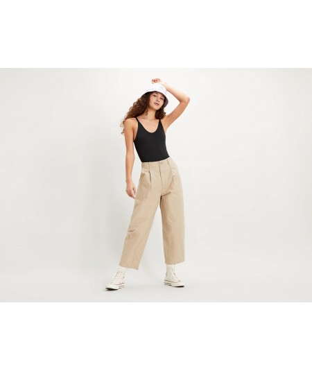 PANTALON UTILITY PLEATED BALLOON CRISP
