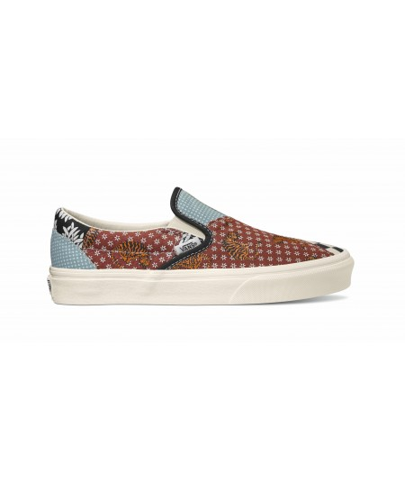 ZAPATILLAS CLASSIC SLIP-ON TIGER PATCHWORK