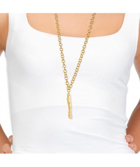 Collar Letra I oro