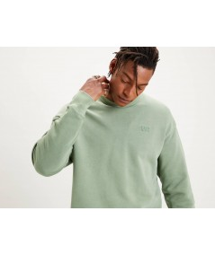 SUDADERA AUTHENTIC LOGO CREWNECK