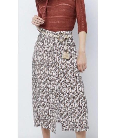 Falda estampada Boutique Ellas - 1