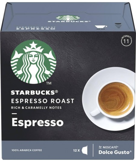 CÁPSULAS CAFÉ DOLCE GUSTO STARBUCKS DARK ESPRESSO Dolce gusto - 1