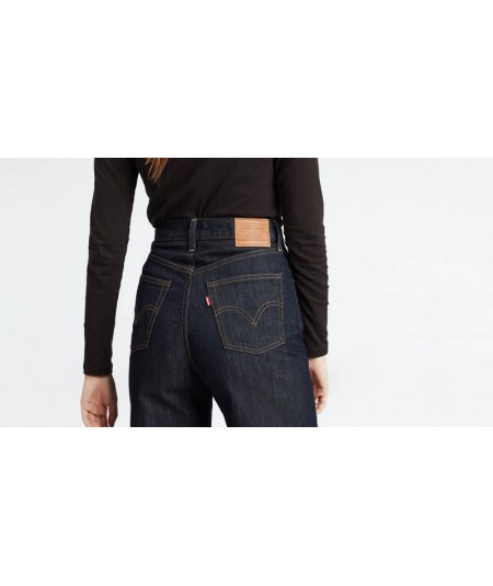 RIBCAGE WIDE LEG HIGH JEANS