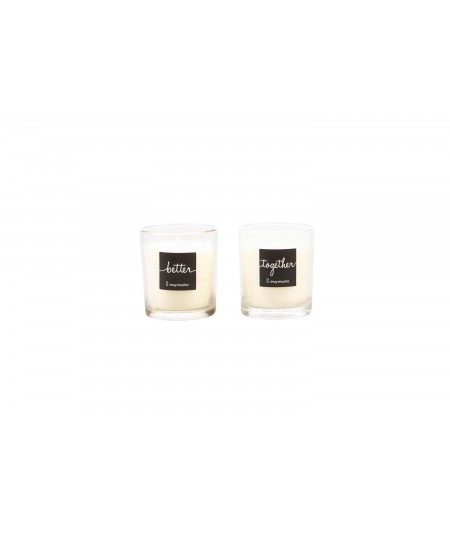 PACK 2 VELAS BETTER TOGETHER