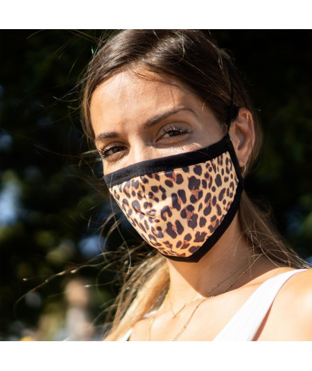 Mascarilla animal print...