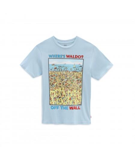 VANS CAMISETA CON MOTIVO DE PLAYA ¿DÓNDE ESTÁ WALLY?  (2-8 AÑOS) Vans - 4