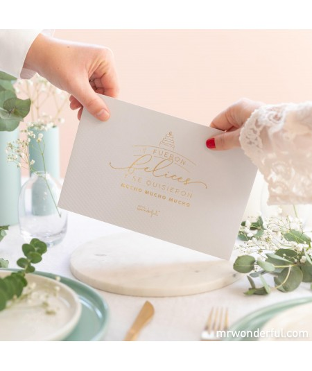 Sobre para regalo de boda -...