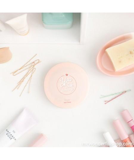 Espejo de maquillaje rosa -...