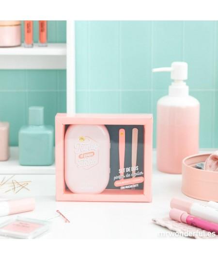 Pinzas de depilar rosa -...