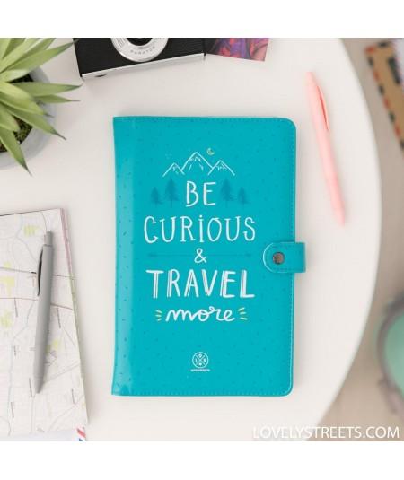 Porta documentos de viaje...
