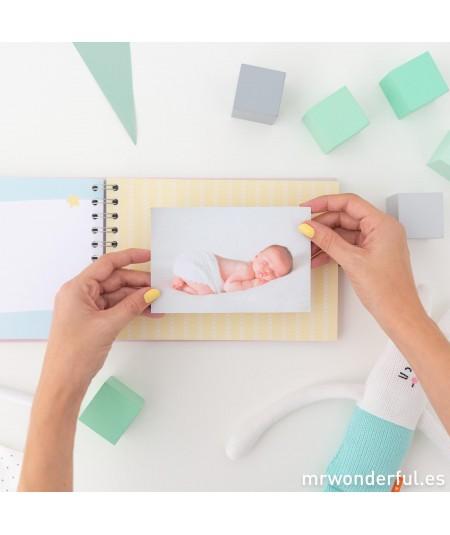 Álbum de fotos para bebé...
