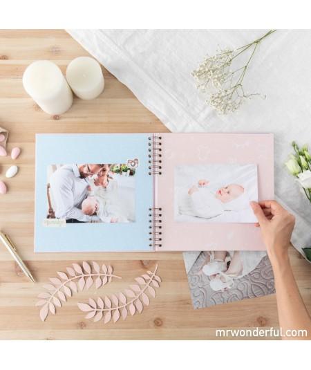 Álbum de fotos rosa - Así...