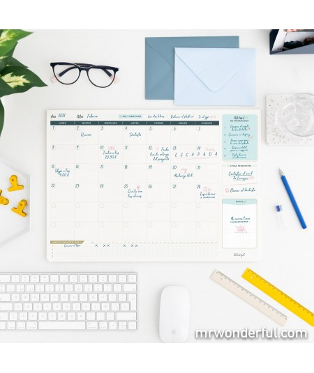 Organizador de escritorio...