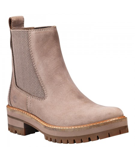 BOTA CHELSEA COURMAYEUR VALLEY MUJER MARRÓN GRISÁCEO