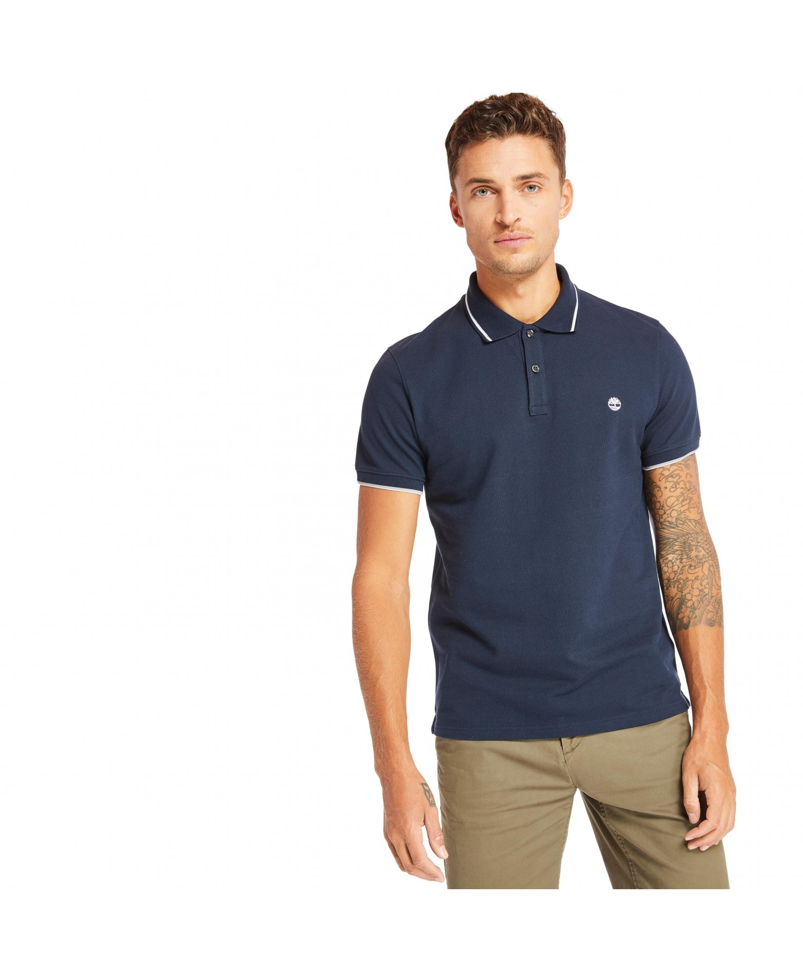 POLO SLIM MILLERS RIVER PIQUE TIPPED POLO SLIM MILLERS RIVER PIQUE TIPPED