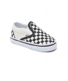 ZAPATILLAS DE NIÑO CHECKERBOARD SLIP-ON (1-4 AÑOS)